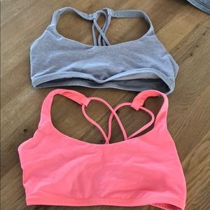 Lululemon free to be bra combo.
